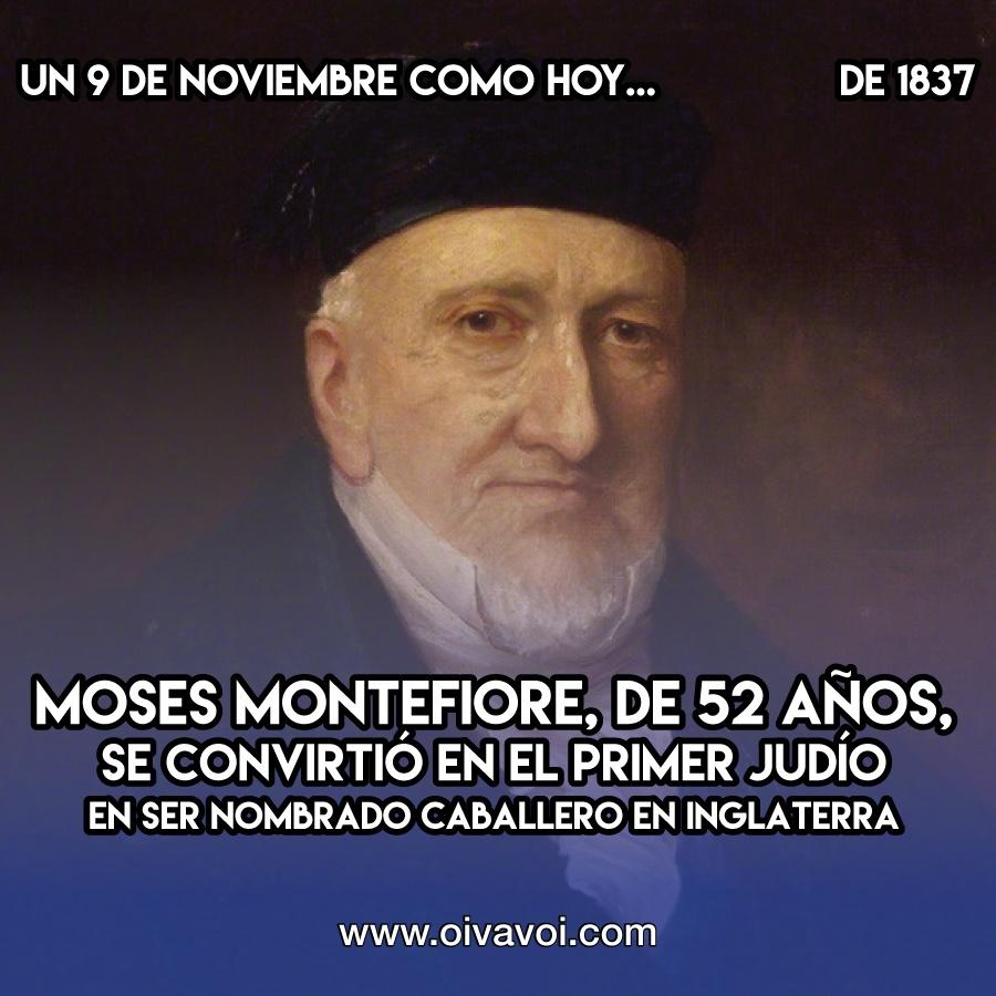 Moses Montefiore: 9 de Noviembre
