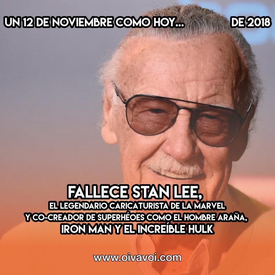 Stan Lee: 12 de Noviembre