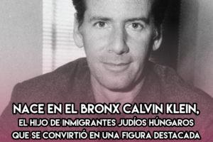 Calvin Klein: 19 de Noviembre