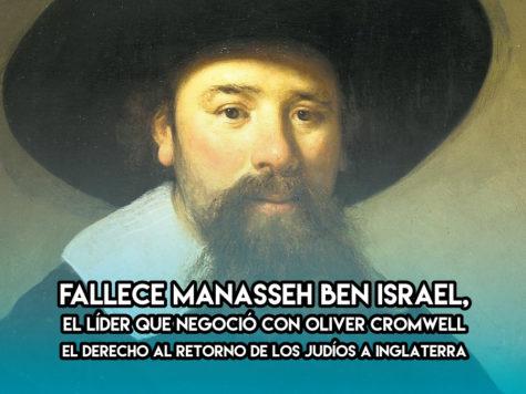 Manasseh Ben Israel: 20 de Noviembre