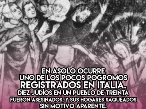 Pogrom e Asolo: 22 de Noviembre