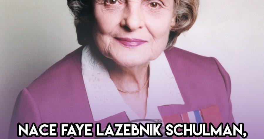Faye Schulman: 28 de Noviembre