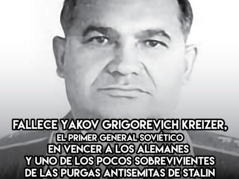 Yakov Kreizer: 29 de Noviembre