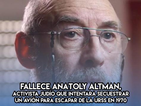 Anatoly Altman: 30 de Noviembre