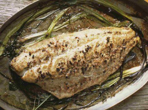 Baluk plakki (pescado asado a la turca)