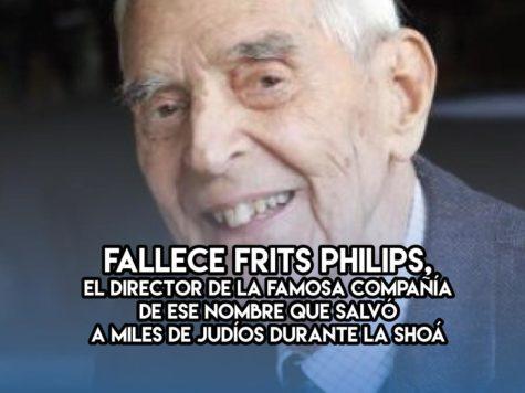 Frits Philips: 5 de Diciembre