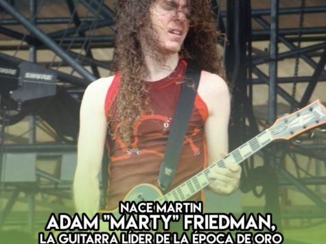 Marty Friedman de Megadeth: 8 de Diciembre