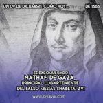 Natan de Gaza: 9 de Diciembre