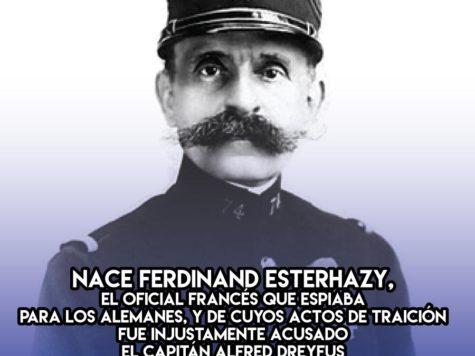 Ferdinand Esterhazy, el verdadero traidor: 16 de Diciembre
