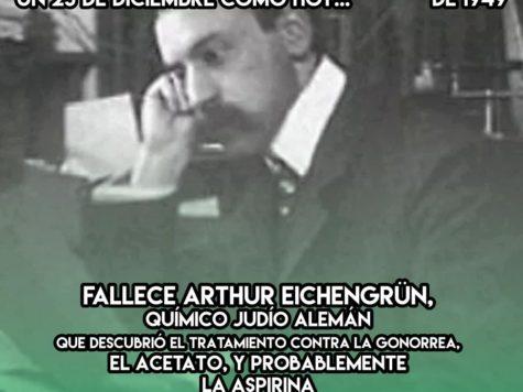 Arthur Eichengrün: 23 de Diciembre