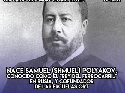 Samuel Polyakov: 24 de Diciembre