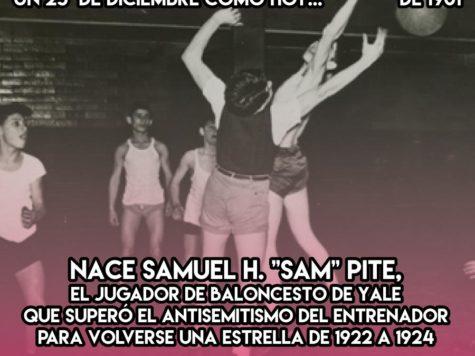 """Samuel H. """"Sam"""" Pite: 25 de Diciembre"""