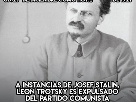 Leon Trotsky: 27 de Diciembre