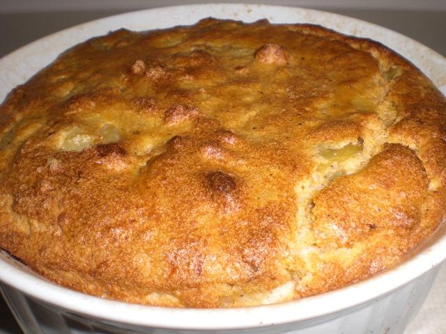 Pashtidat jatsilim (soufflé de berenjenas)