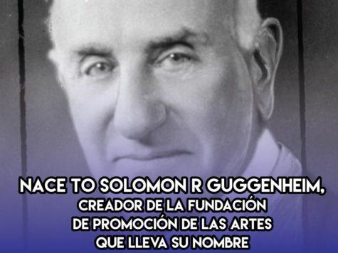 Solomon Guggenheim: 2 de Febrero