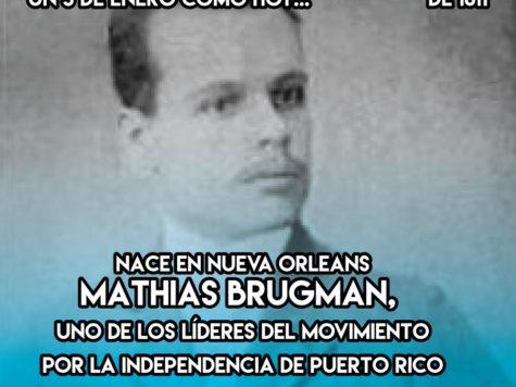 Mathias Brugman: 3 de Enero
