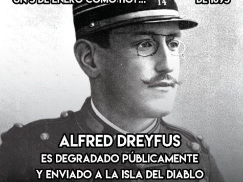 Alfred Dreyfus: 5 de Enero