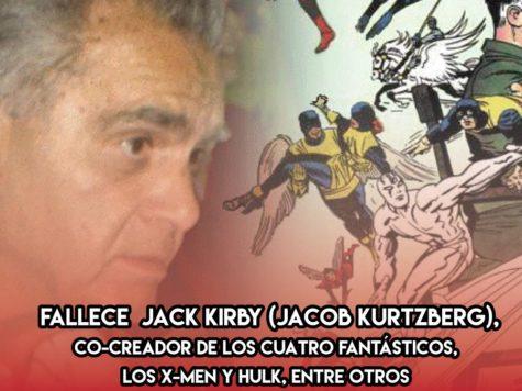 Jack Kirby: 6 de Febrero