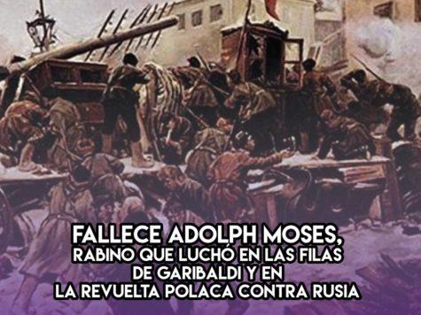 Adolph Moses: 7 de Enero