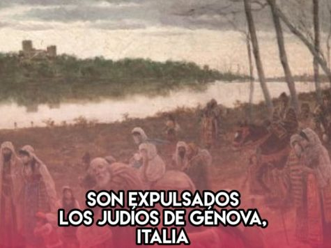 Expulsión de los judíos de Génova: 8 de Enero