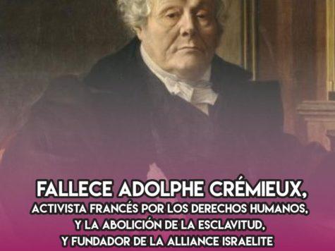 Adolphe Crémieux: 10 de Febrero