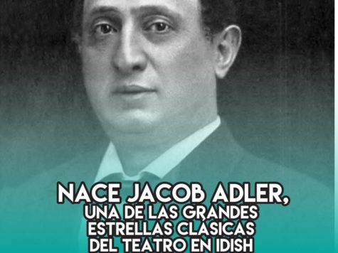 Jacob Adler: 12 de Febrero
