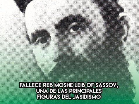 Reb Moshe Leib de Sassov: 13 de Enero