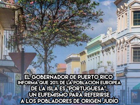 Judíos en Puerto Rico: 18 de Enero