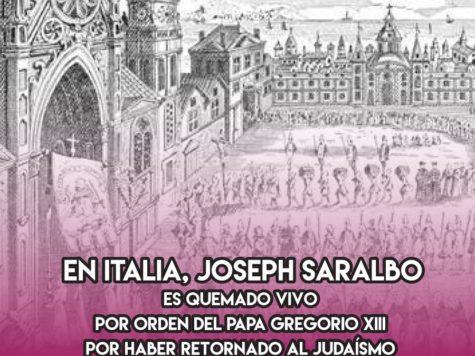 Joseph Saralbo: 19 de Febrero
