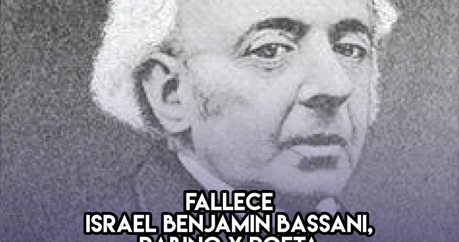 Israel Benjamin Bassani: 20 de Enero