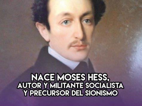 Moses Hess: 21 de Enero