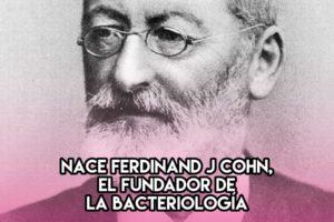 Ferdinand J. Cohn: 24 de Enero