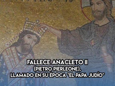 """El """"Papa judío"""": 25 de Enero"""