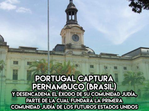 Expulsión de los judíos de Pernambuco: 26 de Enero