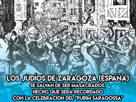 Purim Saragossa: 29 de Enero