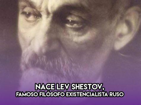 Lev Shestov: 31 de Enero