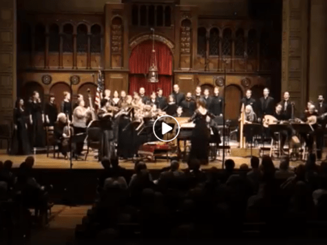 Abraham Avinu, por la The Cleveland Baroque Orchestra