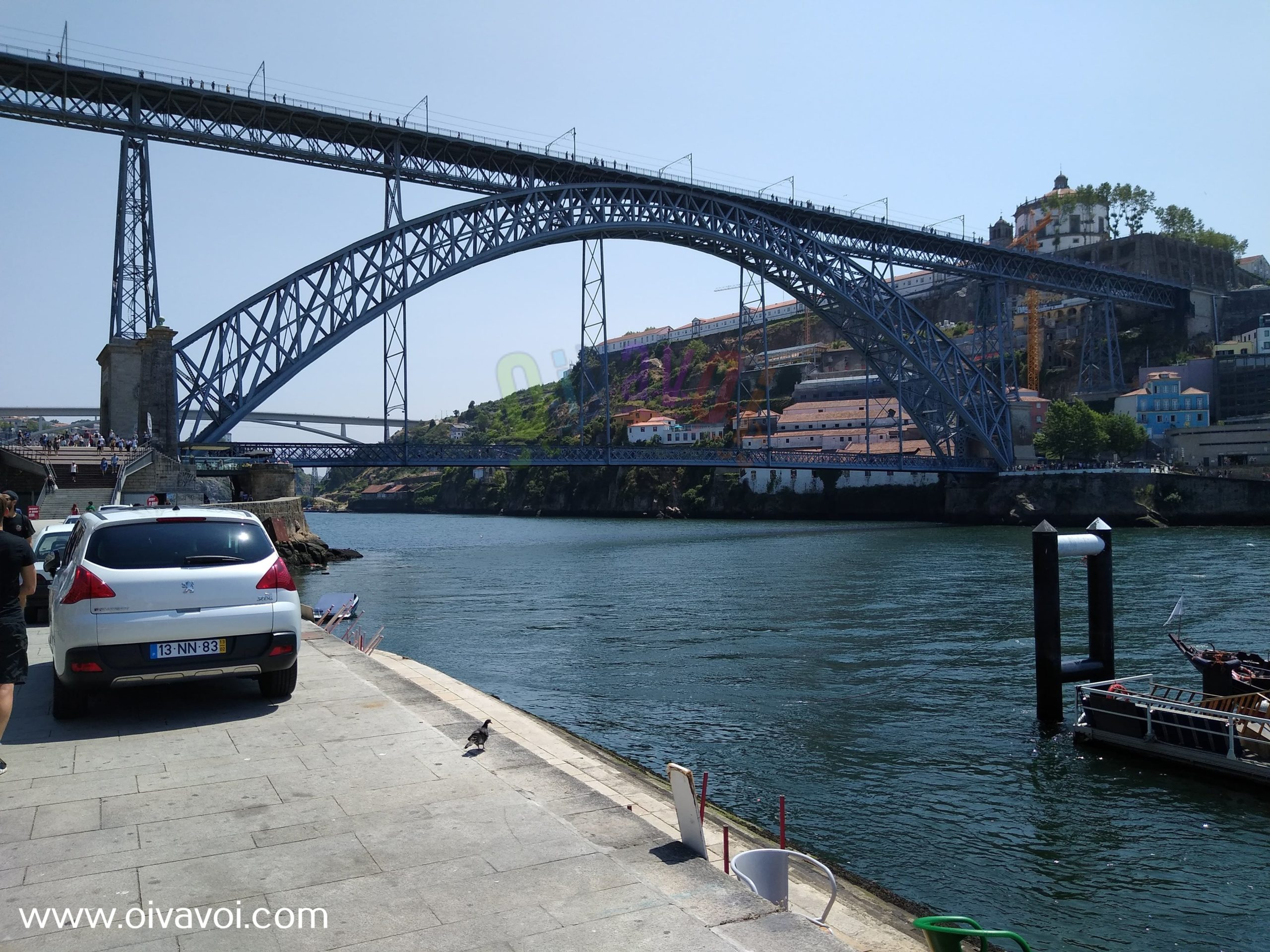 Puente Luis I en Oporto