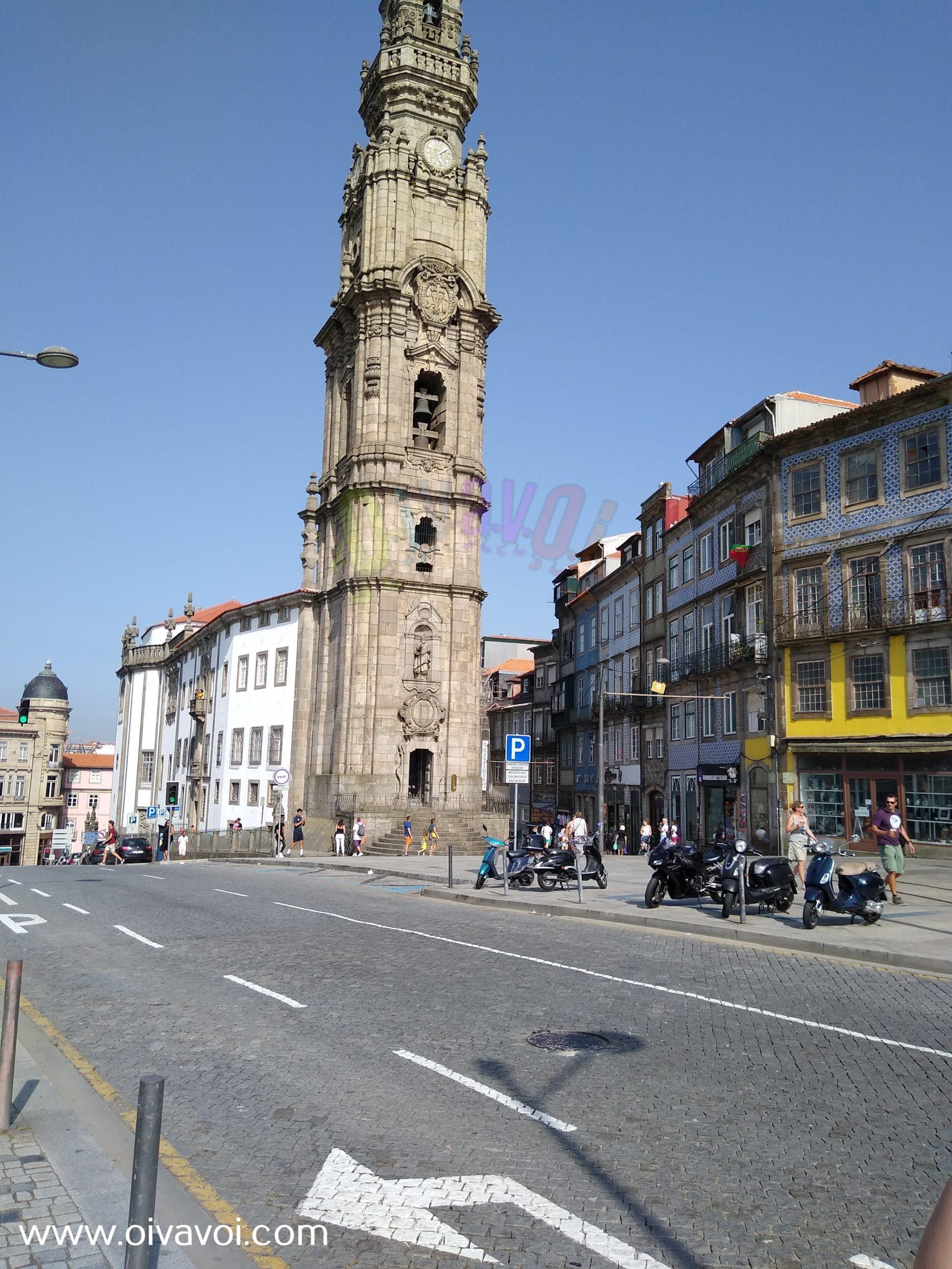 Torre de los Clérigos, en Oporto