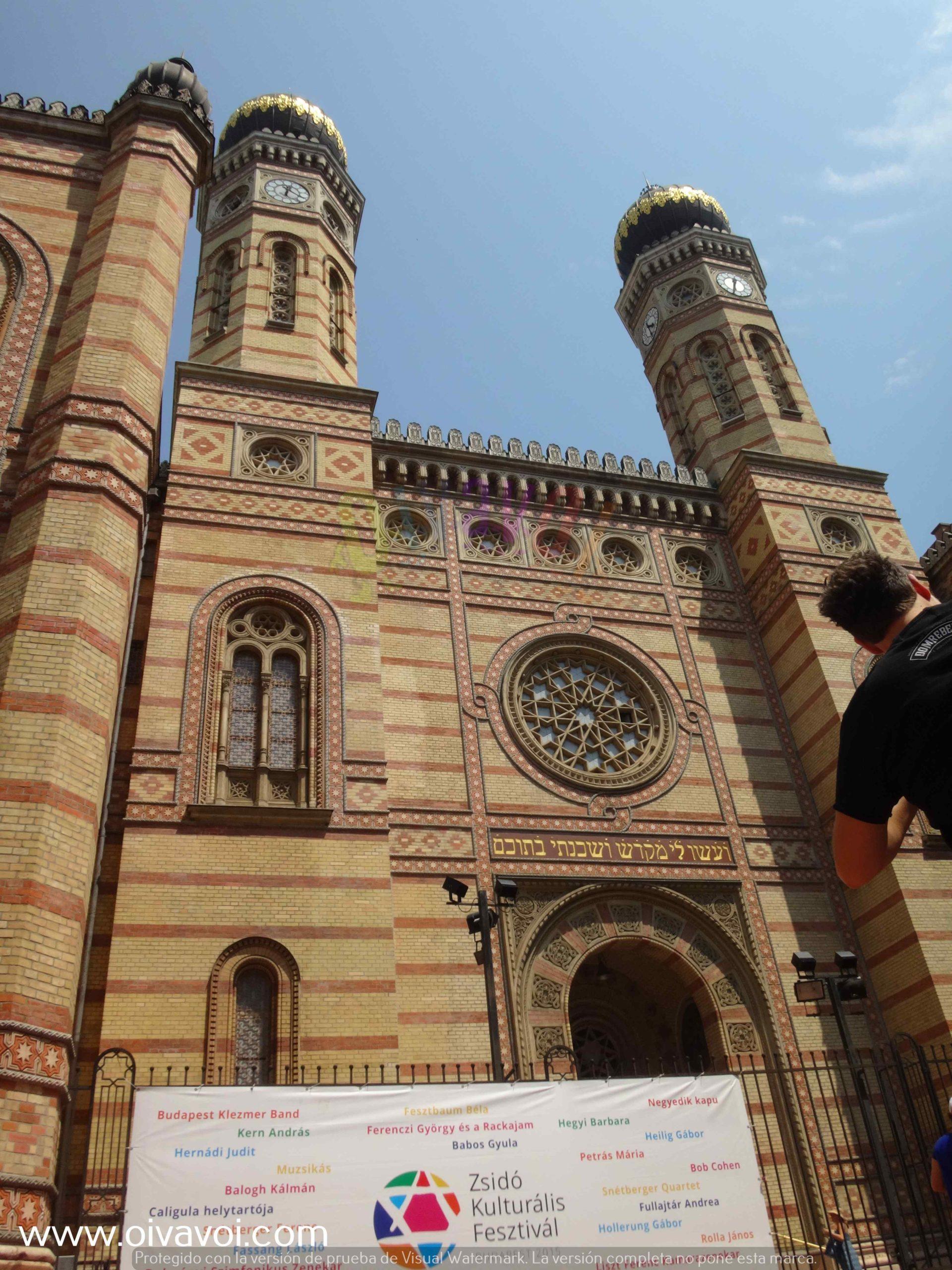 Sinagoga Dohany de Budapest