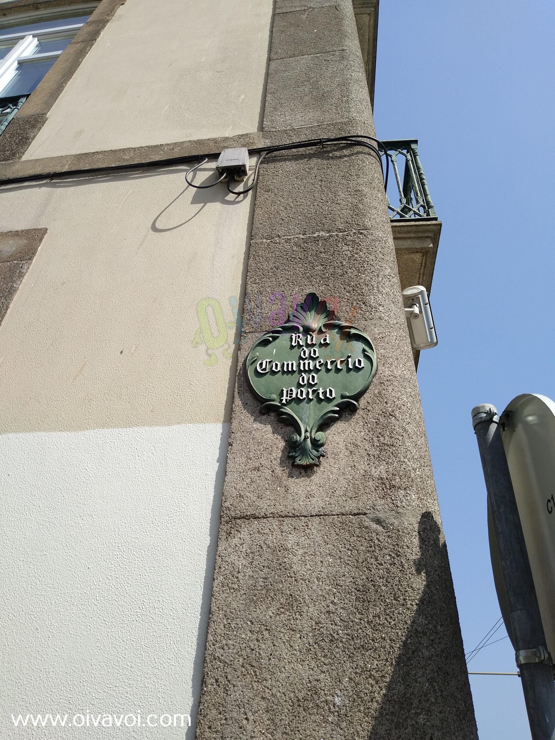 Rua do Commercio de Porto