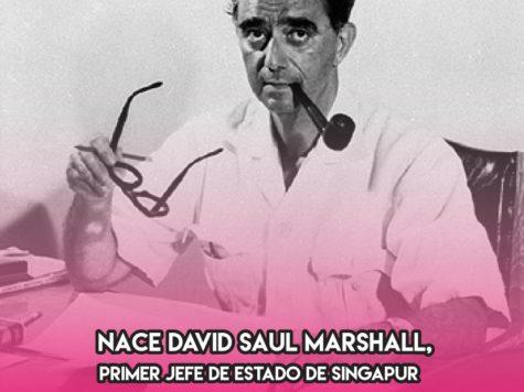 David Saul Marshall: 12 de Marzo