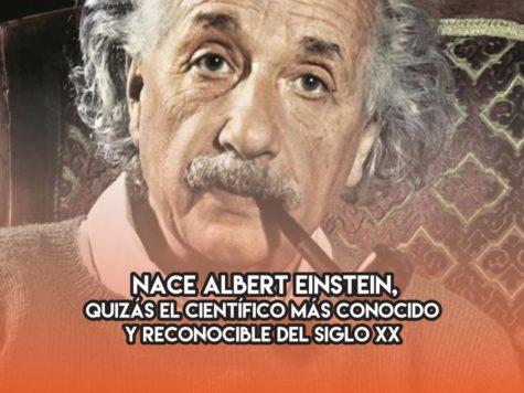 Albert Einstein: 14 de Marzo