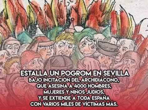 Pogrom en Sevilla: 15 de Marzo