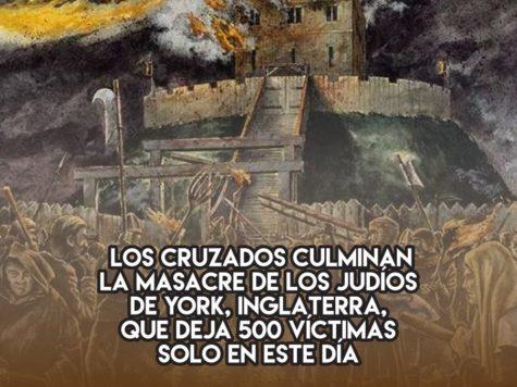 Pogrom en York: 17 de Marzo