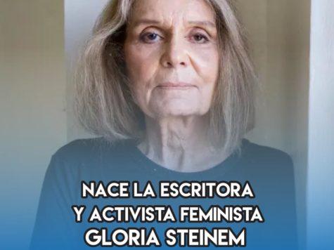 Gloria Steinem: 25 de Marzo