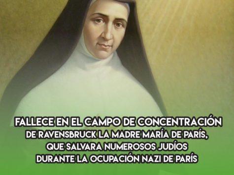 Madre María de París: 31 de Marzo