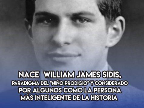 William James Sidis: 1 de Abril