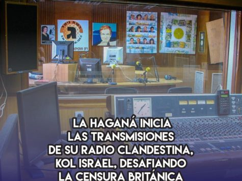 Kol Israel: 13 de Marzo