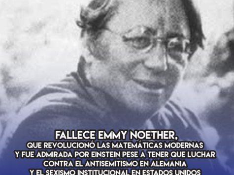 Emmy Noether: 14 de Abril
